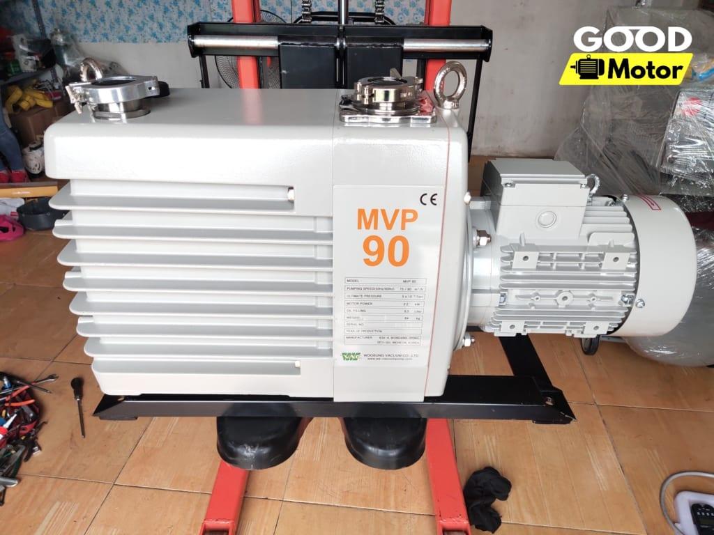 Bơm hút chân không vòng dầu 2 cấp Woosung MVP 90