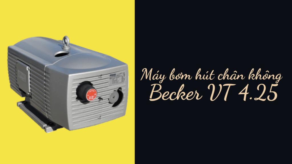 Bơm hút chân không Becker VT không dùng dầu