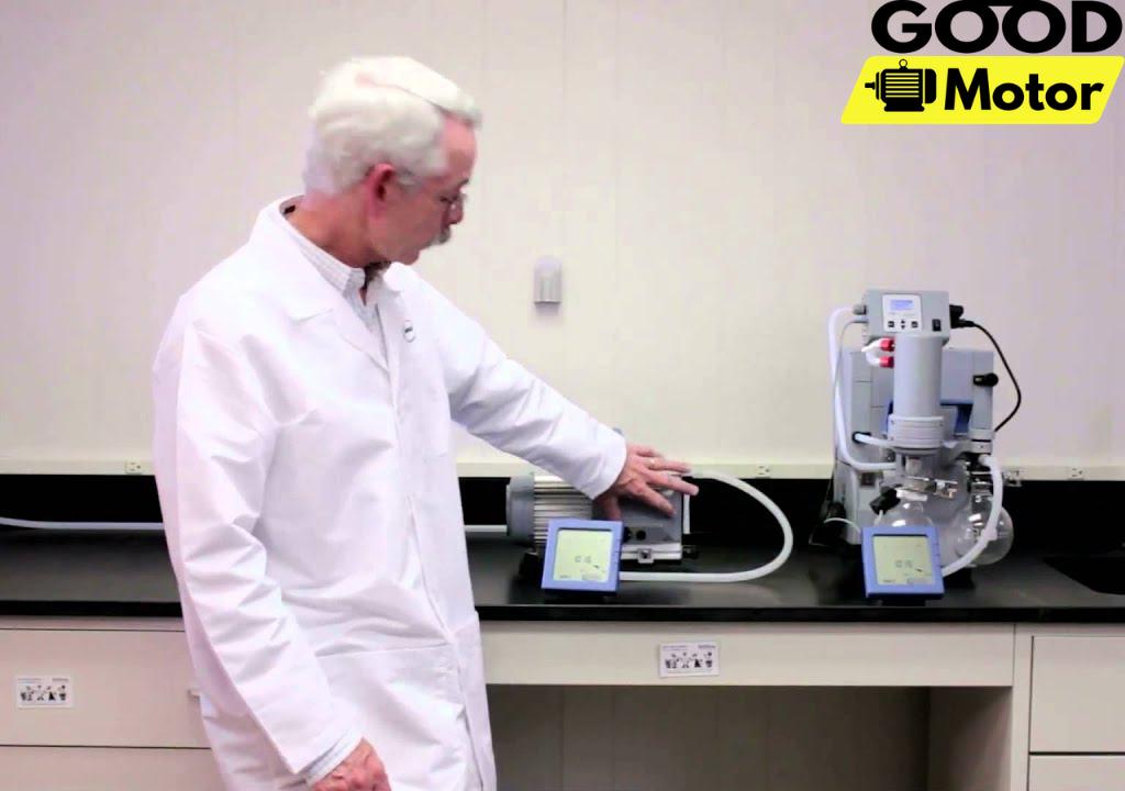 Bơm hút chân không sử dụng trong phòng thí nghiệm